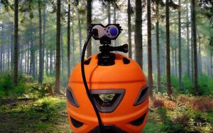 Solar Storm X2 Cree Type Bike Light Gopro Adapter