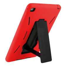 Mini 2 Case Red Hybrid Armor Cover Skin with Stand For Apple iPad Mini 1 2 3