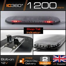 """Odyssey 1200mm 45"""" Slimline Low profile LED Lightbar + Stop Tail and Indicators"""