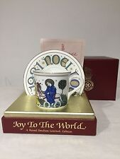 Royal Doulton Christmas Cup & Saucer The Journey to Bethlehem Joy to The World