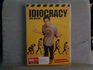 IDIOCRACY DVD 2006 LUKE WILSON 9321337084022 MA15+