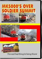 MK5000s Over Soldier Summit The Utah Railway DVD NEW Highball train video