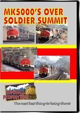 MK5000s Over Soldier Summit The Utah Railway DVD NEW Highball train video