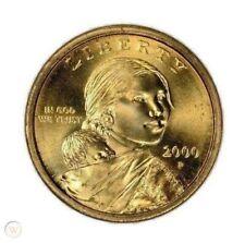 2000 P Sacajawea One Dollar US $1.00 Liberty Gold Coin Uncirculated