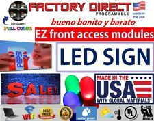 """Led Sign Programmable Electronic Board Full Color Led Signs Fl_Display 32"""" X 88"""""""