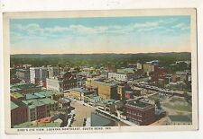 Looking Northeast SOUTH BEND IN Vintage Indiana Postcard