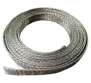 Masseband Kupfer Verzinnt Kupferband Kupferkabel Geflechtschlauch Kabel Band