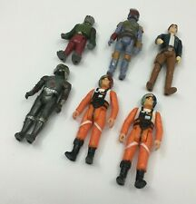 Star Wars Vintage CUSTOM Figure Lot x 6 Boba Fett NICE SHAPE