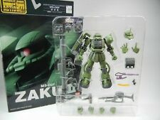 "Extended Mobile Suit In Action!! MSIA ""MS-06F ZAKUⅡ"" Figure EMSIA MIA BANDAI"