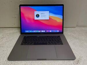 "Apple MacBook Pro 15"" i7 Quad Core 2.9GHz 16GB RAM 500GB SSD A1707 2017 Big Sur"
