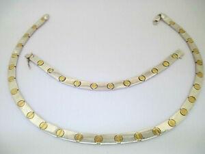 925 Sterling Silver Bracelet and Pendant Set