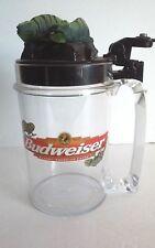 Anheuser Busch Budweiser Talking Lizard Beer Mug / Cup/ Stein
