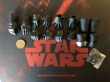 Hot Toys Star Wars Phantom Menace DX16 Darth Maul Hand Set loose 1/6th scale