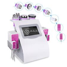 Ultrasonic Cavitation 6in1 Vacuum RF Slimming Body Fat Removal RF Beauty Machine