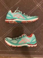 Asics Womens GT 2000 T550N Sea Foam Green Coral Pink Running Shoes Size 9.5
