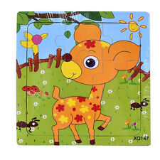 Deer Jigsaw Puzzle - 9 Pieces Brand New - Early Learning Great Fun For Kids