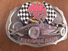 MAC TOOLS RACING  #21 Formula 1 Brabham  PEWTER 3D BELT BUCKLE