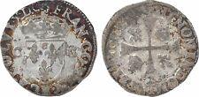 Charles X, roi de la Ligue, douzain 2e type, Rouen - 109