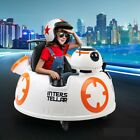 Kids Ride On Spaceship Bumper Car Star Wars Robot Toy Remote Control MP3 LED
