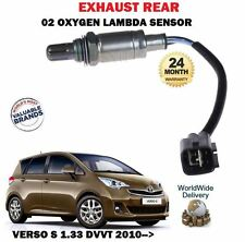 FOR TOYOTA VERSO S 1.33 1NR-FE 2010->NEW EXHAUST 02 OXYGEN LAMBDA SENSOR