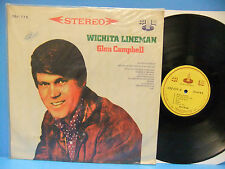 Glen Campbell Wichita Lineman 1969 NM/VG Taiwan Import Record CSJ 775 VINTAGE LP