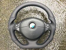 BMW M3 M5 E39 E46 NEW CUSTOM MADE FLAT BOTTOM STEERING WHEEL