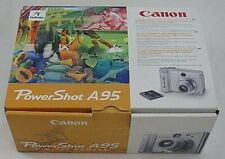 Canon PowerShot A95 Digital 5 MP Camera  AS IS