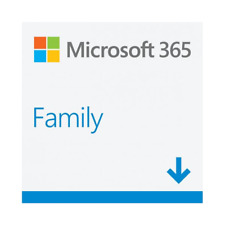 More details for microsoft office 365 family - new full version -  6 user's pc or mac download uk