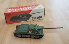 Tank Destroyer - Boxed - Russian SU 100  - Circa 1984 - Rare