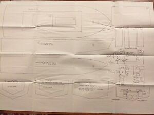 Fire Boat II  M.B. Plan by Richard Webb unused