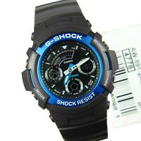 Casio G-Shock AW-591-2A New Chrono Analog Digital Mens Watch 200M Diver AW-591