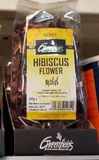 Greenfields Hibiscus Flower Herbal Tea / Sorrel Tea - 2 x 100g Bags .UK SELLER