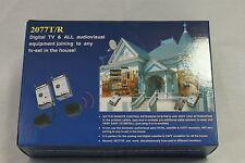 Remote Control Extension System 230VAC 0.5dB IR Receiver IR Reemitter 2077T/R