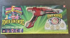 Mighty Morphin Power Rangers Morpher & All 5 Coins by Bandai 1993 Still Works