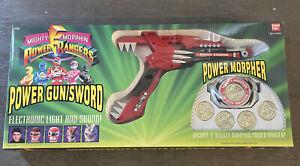 power rangers power gun/sword And power morpher