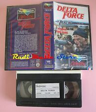 film VHS DELTA FORCE Lee Marwin Chuck Norris Multivision 1986 (F123)  no dvd