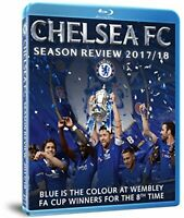 Chelsea FC Season Review 2017/18 (Blu Ray) [Region Free] [Blu-ray] [DVD]
