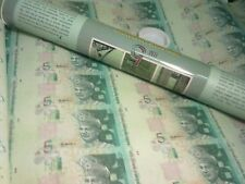 Malaysia RM5 30 in 1 Uncut Banknote with Tube