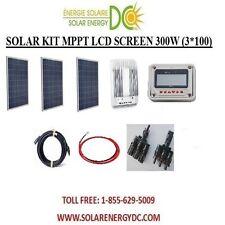 Solar Panel KIT Panneau Solaire 300W 300 W Watt(3 *100 W) 40 MPPT Poly 12V RV VR