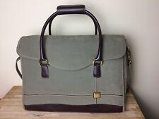 DVF Diane Von Furstenberg BAG Carry On weekend overnight duffle briefcase