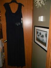 Stenay, Size 12, NWT, Full Length Navy Dress, Gorgeous!!