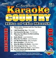 Various Artists : Karaoke: Country Hits Month - December 2 CD