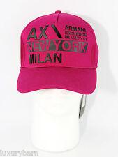 ARMANI EXCHANGE A|X BASEBALL HAT ONE SIZE BRAND NEW AUTENTIC 100% COTTON