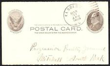 1906 ELSBERRY MISSOURI Hand Cancel Cover (5156y)