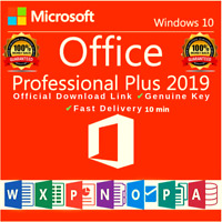 MICROSOFT OFFICE 2019 PROFESSIONAL PLUS 🔥 DOWNLOAD & LICENCE KEY 🔑