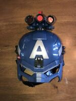 Genuine Hasbro 2013 Marvel Captain America Rodgers Light up Mask w/ Straps S8