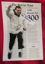 Joe Paterno Penn State Football 300th Win Commemorative Sheet