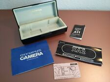Olympus XA2 Camera Case & Instructions