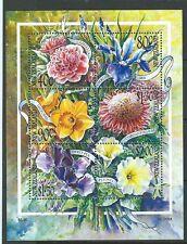 Sellos de Australia y Oceanía de flores