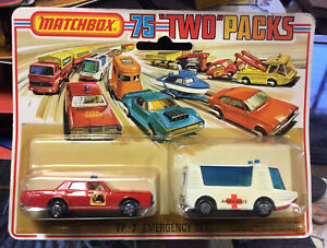 Vintage Matchbox TP-7 Emergency Set In Box